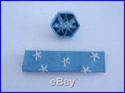 USA Medal Of Honor For Army Service Ribbon & Rosette. Ww2 Period. Rare