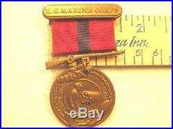 USMC Good Conduct Medal, Europe WW I Service & China Marine Post WWI Service, NR