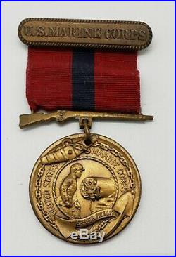 USMC Good Conduct Medal Named Numbered