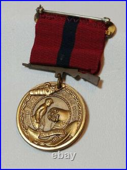 USMC Marine Corps 1922-1925 Banana Wars Engraved Good Conduct medal GCM Pre WWII