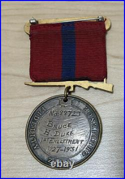 USMC Named Good Conduct Medal China Marine Shanghai 1927-1931