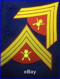 USMC WW1 Gunnery Sergeant Chevrons (Pair) Rare