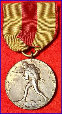 United States Marine Corps Expeditionary Medal M. No. 6913 USMC wrap brooch