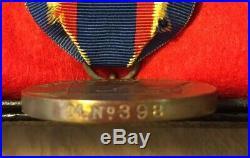 United States Marine Corps Yangtze Service Medal M. No. 398 USMC wrap brooch