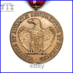 Us Army Certificate Of Merit Medal Wrap Brooch George W. Studley Type 1920-30s