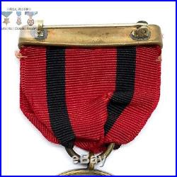 Us Army Indian Wars Campaign Medal Wrap Brooch 1930s Northern Stamping Contract