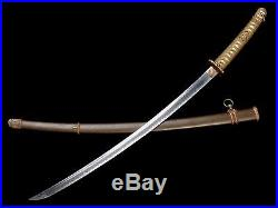 VERY NICE JAPANESE ARMY OFFICER SWORD ANTIQUE SHINTO BLADE