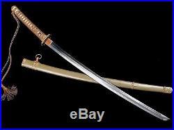 VERY NICE JAPANESE ARMY SHIN GUNTO OFFICER SWORD KANE NORI