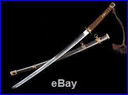 VERY NICE JAPANESE NAVAL KAI GUNTO SWORD RARE VARIATION