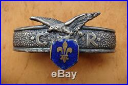 VERY RARE ROMANIA Romanian Scouts Ring tie- Cercetasii Romaniei Inel cravata