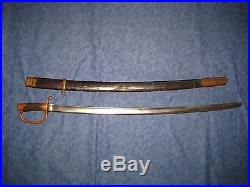 VERY RARE SOVIET CIVIL WAR MADE RUSSIAN M1881 DRAGOON SWORD SHASHKA