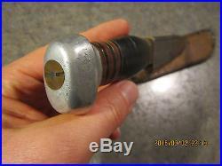 VINTAGE Rare REMINGTON UMC RH 38 12 3/8 OA fixed blade knife in leather sheath