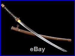 Very Nice Japanese Army Shin Gunto Officer Sword Beautiful Hand-forged Blade