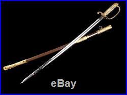 Very Nice Japanese Naval Officer Dress Sword Wwii