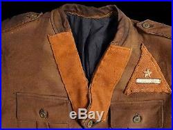 Very Nice Rare Italian Partisan Lieutenant Uniform, Tunic And Breeches