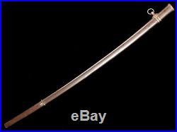 Very Nice Rare Japanese Army Officer Shin Gunto Sword Lightweight Variation