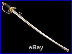Very Nice Spanish Artillery Officer Sword Model 1862