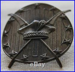 Very Rare 1930s Polish 111th Fighter Squadron Badge