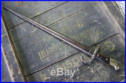 Very Rare Bayonet French Grass In Polish Army 1920 Polish-russo War Wz. 74