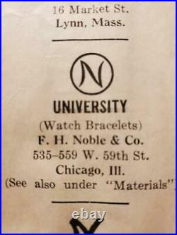 Very Rare Interwar F. H. Noble Air Corps Pilot Wing Badge