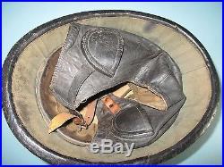 Very rare Belgian M38 moto helmet casque stahlhelm casco elmo Kask