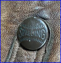 Vintage AG Spalding &Bros. 1920s Army Flyers Leather Helmet Model 1900 USAS