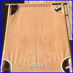 Vintage Gold Medal Camp Furniture Folding Cot Bed Wood & Canvas 1920's or 30's