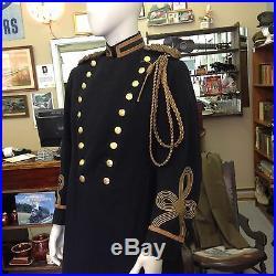 Virginia Volunteers M1902 Colonel Aide de Camp Dress Frock Coat Gov Staff Photo