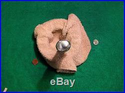 Vtg 1930s Blade Hunt Usa Old WESTERN Buck Horn STAG Knife Rare Bowie Sheath Case