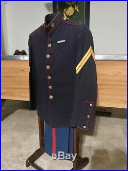 WW1 Dress Blues USMC EGA Named Marine Corps