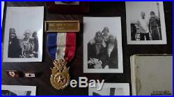 WW1 Gold Star Mothers and Widows Pilgrimage Medals and Photo Collection