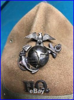 WW1 USMC Campaign Cover WW1 Officer EGA Beast