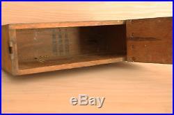 WW1 Wood Ammo Box M1917AI Browning Machine Gun, 30 Cal