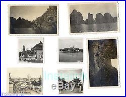 WW2 1943 Photo Album US Navy China Shanghai Hong Kong Taiwan 235 Photographs