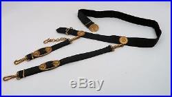 WW2 German Kriegsmarine dagger sword hanger dress belt Navy WW1 parade military
