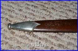 WW2 German SA Dagger by Ed Wusthof of Solingen & Bayonet