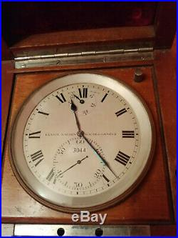 WW2 German U-Boat Kriegsmarine Torpedo ship Chronometer Ulysse Nardin works well