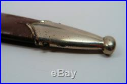 WW2 German dagger rzm dress bayonet army knife sheath political Officer scabbard