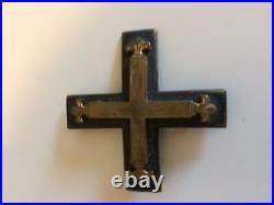 WW2 German pin Baltic war cross badge medal Wehrmacht