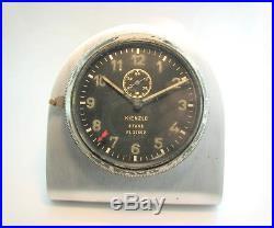 WW2 KIENZLE 8 Tage Luftwaffe Junkers aircraft 8 days Clock. Germany