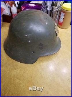 WW2 WWII Ea Spanish Model-26 (Spanish Civil War 1936-1939) steel helmet M34