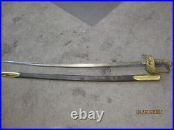 WWI-1930s German Fireman's Parade Sword Gluck Auf