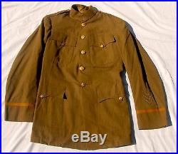 WWI IDd VETERINARY CORPS Officers Uniform Tunic Pants Leggings Hat Transition