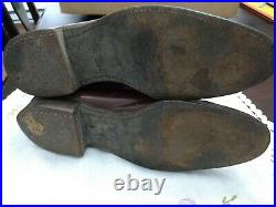 WWI Military Calvary Dress boots, heel to toe 11.5, Heel 3x 3.25 18 high A