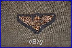 WWI USN Aviation Uniform set Ensign Schofield, bullion pilot wing / flight rank