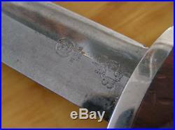 WWII German SA Dagger Eickhorn Solingen RZM M 7/66 1939 + Scabbard