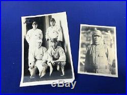 WWII Japanese Army Soldiers Sennenbari Belt Plus Photos & Glasses
