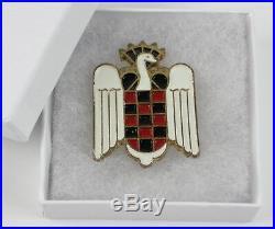 WWII Spanish Blue Division Pin División Azul Eagle Falange Badge Original Rare