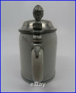 WWII vintage antique beer mug ceramic stein WW1 German 0.5L Wehrmacht Heer Army