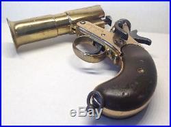 Webley & Scott Ltd No. 1 Mark III Brass Flare Pistol c1918 WW 1 & WW 2 (33881)